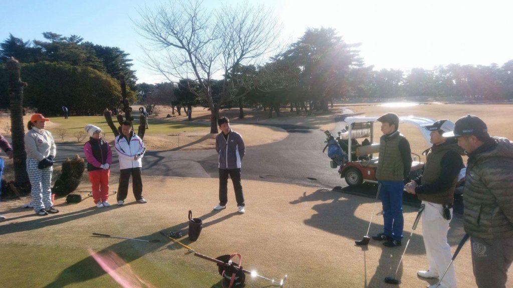 DGP障害者新春エンジョイゴルフ大会 : 開催様子(1)