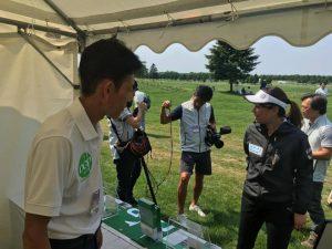 「長嶋茂雄INVITATIONALセガサミーカップ2017」で障害者ゴルフの普及活動(2)