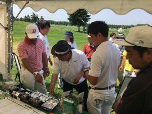 「長嶋茂雄INVITATIONALセガサミーカップ2017」で障害者ゴルフの普及活動(3)